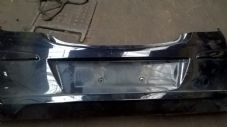 VAUXHALL CORSA  D   REAR BUMPER  BLACK  inc lower spoiler     ( 3 DOOR MODEL  )   2009  - 2012